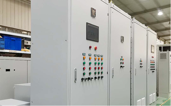 水厂自动化plc控制柜主图
