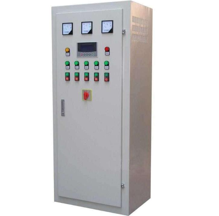 水厂plc控制柜单图
